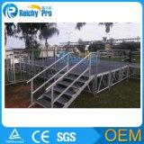 Étape en aluminium réglable de relais avec des opérations