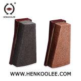 화강암 닦는 연마재는 화강암을%s Fickert 구획을 담황색으로 물들인다