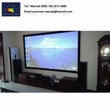 Fotograma de película de fibra de vidrio de alta definición Pantalla de proyección de la pantalla para cine en casa