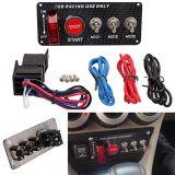 12V Auto автомобильный двигатель при включенном зажигании панель переключателей с 3 перекидной переключатель