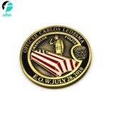 Moneta antica su ordinazione del metallo del ricordo dell'oro
