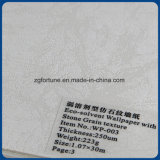 Обои Eco-Растворителя текстуры зерна камня печатание Inkjet бумаги стены