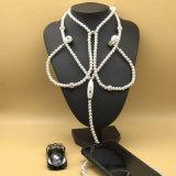 Мода-3303 Byunite EV искусственные украшения жемчуг ожерелья наушники с микрофоном шва 3,5 гарнитуры