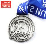 Медаль спорта Сингапур античное овальное Формы Demi-Марафона De Бежать Состязания для сувенира