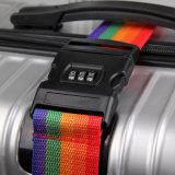 Courroies réglables de courroie de degré de sécurité de valise de courroie de bagage de course