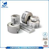 Collant thermique imprimable d'étiquette de code barres de transfert