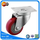 Rodízio do giro com 3 capacidade da roda 100kg do plutônio do rolamento de esferas da polegada