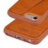 C&T TPU 더하기 보편적인 iPhone 6/6s/7/6s 플러스 또는 iPhone 8/iPhone 7 8을%s 카드 구멍을%s 가진 풍부한 방어적인 케이스 RFID 보호 가죽 지갑 상자