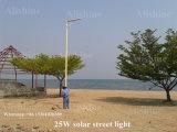 5W-120Wオールインワン太陽動力を与えられた屋外ランプLEDの太陽街灯