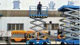 6-20mの移動せん断のフォークの高度の操作のプラットホーム