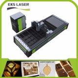 Faser-Laser des Eks Laser-Ausschnitt-Maschinen-heißester Verkaufs-Laser-Scherblock-Gefäß-2017 und des Blattes