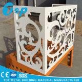 Revêtement en aluminium sculpté de découpe laser pour la Décoration de mur de façade du panneau