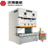 Jh25 160 toneladas de máquina de carimbo mecânica da imprensa