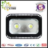 100W 좋은 품질 옥수수 속을%s 가진 고아한 IP67 LED 플러드 빛은 플러드 빛을 잘게 썬다
