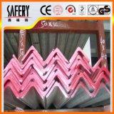 La igualdad/desigualdad en el ángulo de acero inoxidable 304 Bar para materiales de construcción