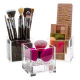 Kosmetische Organisator van de Houder van de Mixer van de Schoonheid van de Make-up van het Type van kubus de Acryl