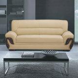 Beste Qualitätshotel-Vorhalle-Möbel-ledernes geschnittensofa (C17)
