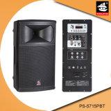 15 Spreker ps-5715PBT van Bluetooth van de FM van de AMPÈRE USB BR van de duim de PRO60W Digitale Plastic Actieve