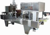 Sellador de taza de gelatina automático de bandeja de plástico, Máquina de Llenado y Sellado