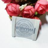 Los valores de fábrica de accesorios de prendas de vestir de algodón resistente de la etiqueta de impresión