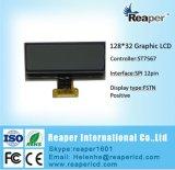 Monozahn LCD der LCD-Baugruppen-128X32 für Messinstrument, industriell. Gerät. Medizinisch