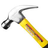 Klauwhamer de van uitstekende kwaliteit van de Hamer van de Spijker van de Hulpmiddelen van de Hand 20oz Met de Schacht van de Glasvezel