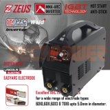 Machine van het Lassen van de Omschakelaar MMA van het Voltage 110V/220V van Amerika de Standaard Dubbele (zeus-160X)