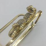2017 accessoires épatants de bâti de fer de serpent chaud pour la caisse cosmétique de sac de main de sac de soirée