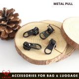 Il sacchetto parte il cursore su ordinazione della chiusura lampo del metallo dell'indumento per il sacchetto