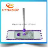 Fregona plana de la herramienta de la limpieza de la fregona de Microfiber