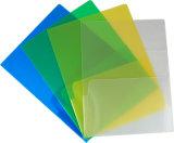 二重カラー締める物のプラスチックファイル