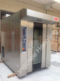 Печь шкафа оборудования доставки с обслуживанием тепловозная роторная для фабрики хлебопекарни