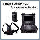 Beweglicher Cofdm HDMI drahtloser beweglicher video Übermittler und Empfänger LCD