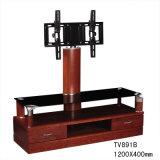 3 Fächerwalmart-Holz Fernsehapparat-Standplatz-Schränke mit Halter