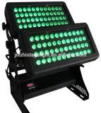 Gbr двойной водонепроницаемый головки блока цилиндров 72ПК X 10Вт Светодиодные города цветной настенный светильник