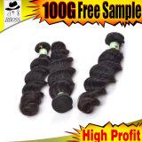 Волосы девственницы /Indian человеческих волос /Weaving волос Weft