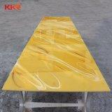 Kkrの装飾的な石の固体表面の半透明な固体表面材料