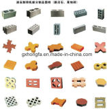 Automatischer Kleber-konkreter hohler Block/Ziegeleimaschine