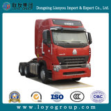 수송을%s T5g 6*4 트랙터 트럭 트랙터-트레일러