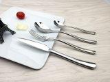 Jeu de cuillère de couteau de fourche de dîner d'acier inoxydable d'hôtel de qualité d'approvisionnement