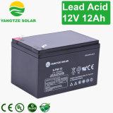 12V 12ahの手入れ不要のバッテリー線の酸