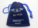 Small Velvet Packing Pouch with Silk Printing Logo (GZHY-dB-020)