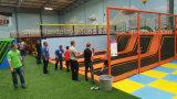 Weißes Haar für Innenkind-Sport-Trampoline-Park mit Wettbewerbsvorteilen