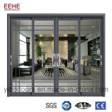 Puertas de aluminio manufacturadas Windows del surtidor de la tapa tres en Foshan