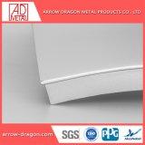 Comitato di parete solido di alluminio curvo per la facciata