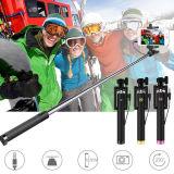 확장 가능한 Selfie 지팡이 삼각 iPhone6/7/8를 위해 적합했던 먼 Bluetooth 셔터