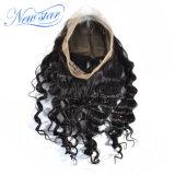 Frontal profondo cinese all'ingrosso del merletto dei capelli umani 360 del Virgin dell'onda