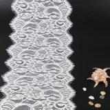 Tessuto all'ingrosso del merletto del voile del tessuto del vestito da cerimonia nuziale