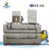 Mistura de polímero integrado e sistema de alimentação para tratamento de água