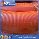 Boyau spiralé d'aspiration de PVC de qualité flexible